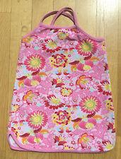 H&M Sommerkleid Frottekleid 92-98 Strandkleid Blumen wunderschön !!!
