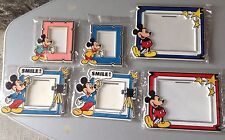 Vintage #6X Mickey Mouse Picture Frame Disney Cornici Topolino Vintage