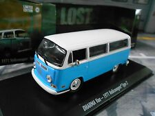 "VW Volkswagen Bulli T2 b T2B TV Movie Filmauto "" Lost "" blau Greenlight NEU 1:43"