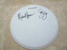 "Steel Panther Michael Star Satchel Signed Autograph 13"" Drumhead PSA Guaranteed"