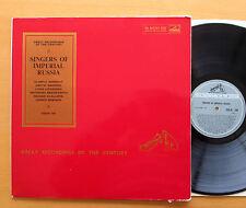 COLH 129 Singers Of Imperial Russia Chaliapin Boronat etc HMV Mono NM/EX insert