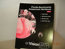 Scott Foresman enVision Math FL Grade 5 Assessment Workbook NEW(Row2s3 3m)733