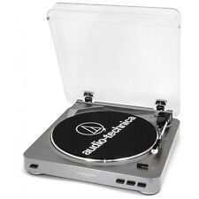 AUDIO-TECHNICA AT-LP60-USB BELT-DRIVE STEREO TURNTABLE USB & ANALOG PRE-AMP