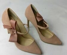 DOROTHY PERKINS WOMENS APRICOT/NUDE STRAP HIGH HEELS SHOES SIZE UK 5 38 NEW
