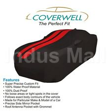 COVERWELL BR-02 Designer Waterproof Custom Fit Car Body Cover For Tata Manza