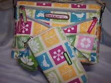 LILY bloom Tic Tac Toe Candace Mid Crossbody & Matching Wallet