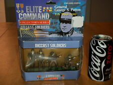 DIECAST TOY SOLDIERS- WW#2, U.S. THIRD ARMY & GENERAL GEORGE PATTON, BOXED SET