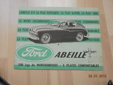 catalogue FORD Abeille SIMCA Vedette