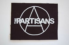 """Partisans Cloth Patch Sew On Badge Punk Rock 4 Skins  Approx 4""""X3.5"""" (CP31)"""