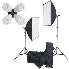 1600W Photo Studio Video Continuous Lighting Kit Photography Softbox Light Stand