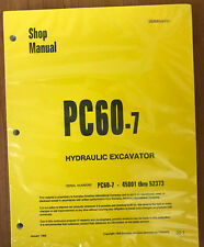 Komatsu Service PC60-7 Excavator Shop Manual #2
