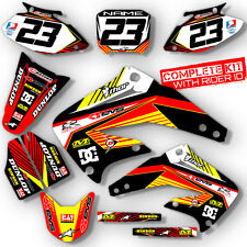 1997 1998 1999 HONDA CR 250 DIRT BIKE GRAPHICS KIT CR250 MOTOCROSS DECALS