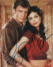 Nathan Fillion & Morena Baccarin ++ Autogramm ++ FIREFLY