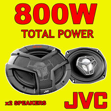 "JVC 6""x9"" 800W TOTAL 3WAY 6x9 INCH car rear deck oval shelf speakers with GRILLS"