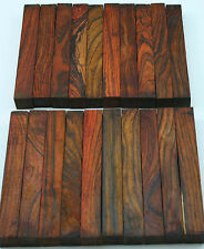"""20 Cocobolo Pen Blanks 5/8""""x5/8""""x5"""" Exotic Wood Free Shipping C-253"""