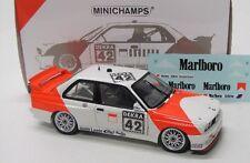 BMW M3 E30 ( DTM 1991 ) Euser mit Decals / Minichamps 1:18