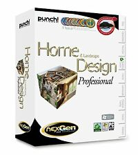 Punch Home & Landscape Design Professional (PC, 2010), *New, Sealed*