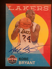 Kobe Bryant 2011-12 Panini Past and Present auto MINT condition # 111 autograph
