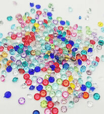 1000Pcs Mix Birthstone Crystal Floating Charm for Glass Living Memory Lockets !