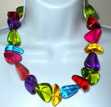 Sobral Classicos Diamantes Multi Color Statement Necklace Direct From Brazil