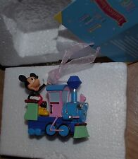 Disney Store Mickey Mouse Train Decoration Disneyland Paris Christmas tree boubl