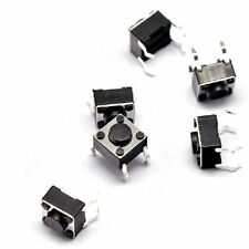10 Pcs Momentary Tact Tactile Push Button Switch 12 x 12 x 12mm 4 Pin DIP w Cap