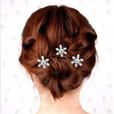 Perlen Strass Haarnadel Haarspange Haarschmuck Hochzeit Braut