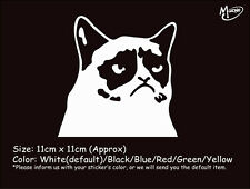 GRUMPY CAT funny reflective car truck stickers Best gift presents-