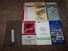 1987 Ford F-250 Owner Owner's User Guide Operator Manual STD XL XLT V8 4.9L 5.0L