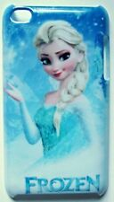 Frozen Elsa Pattern Blue Apple iPod Touch 4 4th Hard Case Cover -US SELLER