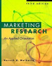 Marketing Research: An Applied Orientation-ExLibrary