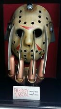 NECA Freddy vs Jason - Jason's Mask Freddy's Glove - USED -