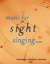 Music For Sight Singing by Thomas E Benjamin