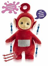 TELETUBBIES JUMPING PO WITH SOUNDS - SOFT TOY BY CHARACTER - BRAND NEW!