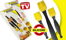 LJS: Better Brush Basting Silicone Brush Kitchen Tool Set of 3