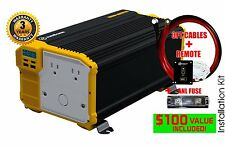KRIËGER® 3000 Watt 12V Power Inverter MET UL CSA