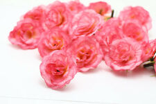 10pcs ROSES Artificial Silk flower heads Home Wedding Paryt DIY Decorative