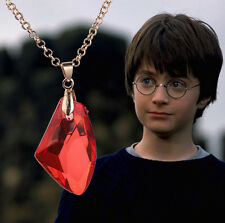 wholesale vintage harry potter magic stone necklace restoring  necklace acrylic