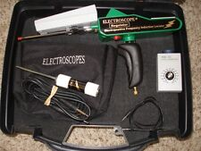 Long Range Modified Electroscope Metal Detector with Discriminator and Case!