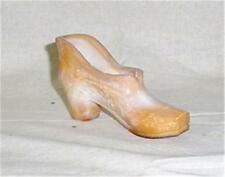 Westmoreland Choclate Brown Glass Shoe