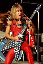 "Randy Rhoads - 12""*8"" concert photo Port Vale 1981"