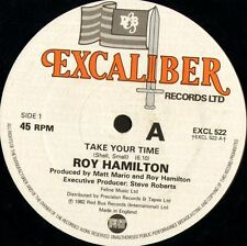"ROY HAMILTON take your time EXCL 522 uk excaliber 1982 12"" WS EX/"