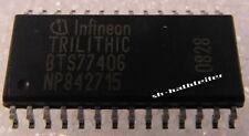 3 x INFINEON BTS7740G Quad D-MOS Switch Driver (SMD SO28) - 3 Stück