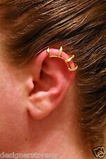 CC Skye Gold Pave Multi Ear Cuff