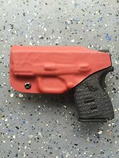 SPRINGFIELD ARMORY XDs 3.3 9/45 CUSTOM IWB KYDEX HOLSTER (BLOOD RED)