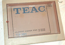 Vtg TEAC A-1200/ 1500 Stereo Tape Deck Reel-to-Reel PLASTIC DUST COVER Box RARE