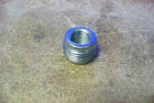 """NOS Cooper Crouse-Hinds RE31 1 X 1/2"""" Steel Reducing Bushing"""