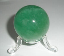 Green Fluorite crystal Sphere 40mm