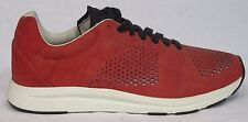 MENS PUMA HUSSEIN CHALAYAN HAAST Red Leather Fashion Trainers Shoes Size UK 7.5