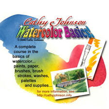 "Cathy Johnson's  ""WATERCOLOR BASICS"" CD!"